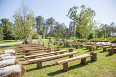 Farm Wedding Seating