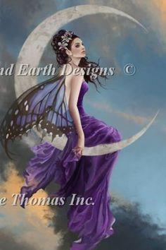 Moon Amethyst Nene Thomas Heaven and Earth Designs