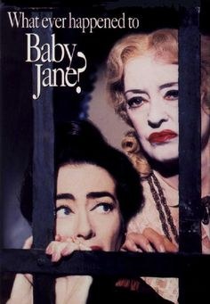 What Ever Happened to Baby Jane? An awesome performance by Bette Davis and Joan Crawford! What Ever Happened to Baby Jane? An awesome performance by Bette Davis and Joan Crawford! Scary Movies, Old Movies, Vintage Movies, Great Movies, Horror Movies, Classic Movie Posters, Classic Movies, Love Movie, Movie Tv