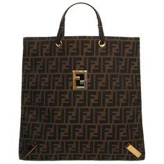 Fendi Handbag ❤ liked on Polyvore