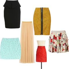 skirts skirts skirts- like the zipper skirt