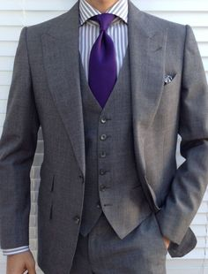 97569a1b7 I guess you can call this my birthday suit. Tom Ford 3 piece suit, base A  Borrelli shirt Sam Hober unlined, 7 fold, hand monogrammed tie - an  extremely ...