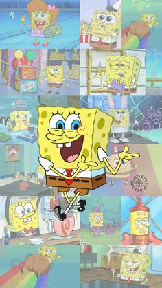 SpongeBob SquarePants wallpaper - - SpongeBob SquarePants wallpaper – The Effective Pictures We Of - Cartoon Wallpaper Iphone, Disney Phone Wallpaper, Mood Wallpaper, Iphone Background Wallpaper, Retro Wallpaper, Cute Cartoon Wallpapers, Trendy Wallpaper, Locked Wallpaper, Aesthetic Iphone Wallpaper