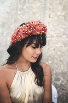 Joelle Perry Hawaii.  This flower crown is perfect.