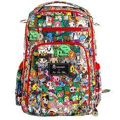 Ju-Ju-Be Be Right Back Backpack Style Diaper Bag - Tokidoki Fairytella | Designer Diaper Bags  www.duematernity.com