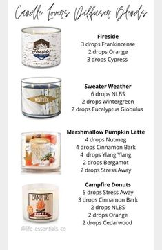 Essential Oil Candles, Essential Oil Diffuser Blends, Doterra Essential Oils, Scentsy Oils, Oil Mix, Diffuser Recipes, Back To Nature, Diy Candles, Wax Melts
