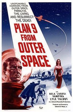 Plan 9 From Outer Space - 1959 - Movie Poster