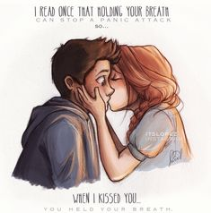 Stiles and Lydia ❤️❤️❤️❤️ #PanicAttackDrawing