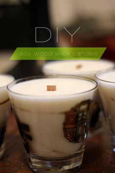 DIY Candles DIY Home DIY Crafts :: DIY Soy wood wick candles