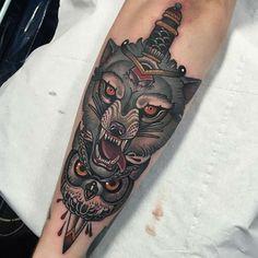 Home - Tattoo Spirit Wolf Tattoos, Animal Tattoos, Leg Tattoos, Sleeve Tattoos, Tattoo Designs, Wolf Tattoo Design, Wolf Design, Unique Tattoos, Beautiful Tattoos