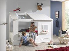 Παιδικό κρεβάτι σπιτάκι Lit Cabane tree Decoration, Bedding Sets, Toddler Bed, Sweet Home, Kids, Furniture, Home Decor, Products, Bed Frames