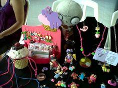 Algunas de mis creaciones en la convención Otaku Bankai Fest Cumaná 2013