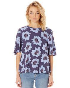 Print T Shirt Blouse