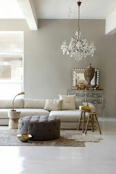 taupe inrichting taupe interieur taupe kleur woonkamer ...