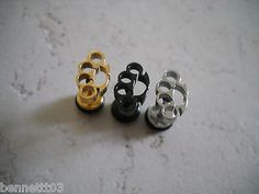 CHOOSE ONE 16g BRASS KNUCKLE Tragus Labret Cartilage or Earring.