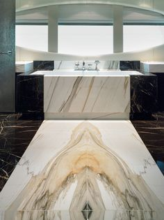 Bookmatched Marble Floors | recommended Purapietra