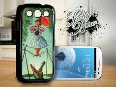 Galaxy S3 Hard Case - Haunted Mansion Inspired Painting 001 - Samsung Phone Cover. $16.88, via Etsy.