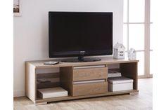 Design et pratique, ce banc TV ne passera pas inaperçu.