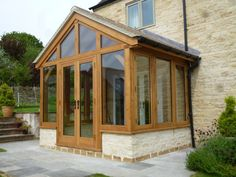 #Oak porch good example of smaller projects we are often asked to #design.
