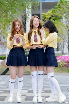 Gowoon, Sehyung and Taeha ❤️