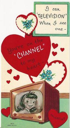Vintage valentines TV - Bing Images