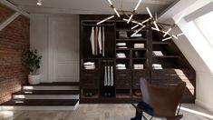 Projekt garderoby, wersja garderoby otwartej Closet, Home Decor, Armoire, Decoration Home, Room Decor, Closets, Cupboard, Wardrobes, Home Interior Design