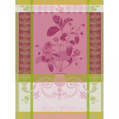 Tea Towel, Fraisier   Garnier-Thiebaut