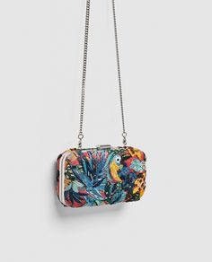 891e06ade1d0 Bags ·  50. ZARA - WOMAN - TROPICAL PRINT MINAUDIÈRE Zara United Kingdom