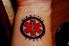 My tattoo medical alert tattoos pinterest for Tattoo shops in winston salem nc