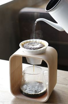 pour-over coffee station with glass carafe - Coffee Maker - Ideas of Coffee Make. - pour-over coffee station with glass carafe – Coffee Maker – Ideas of Coffee Maker - Coffee Station Kitchen, Home Coffee Stations, Coffee Cafe, Coffee Drinks, Coffee Gifts, Coffee Barista, Coffee Shops, Drip Coffee, Cup Of Coffee