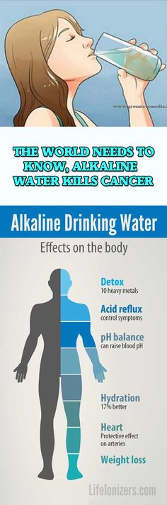 THE WORLD NEEDS TO KNOW, ALKALINE WATER KILLS CANCER