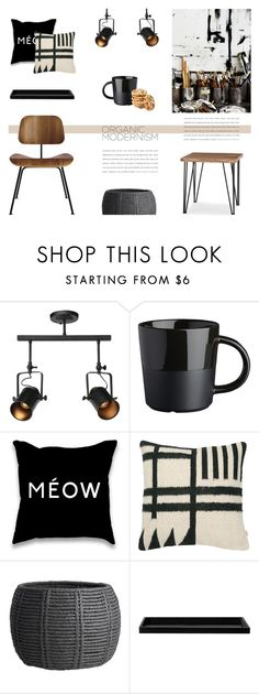 """""""ORGANI CMODERNISM"""" by canvas-moods ❤ liked on Polyvore featuring interior, interiors, interior design, home, home decor, interior decorating, CB2, ferm LIVING, ASA and Design Within Reach"""