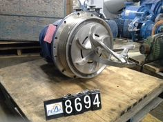 Power End with Impeller for Ahlstrom pump model MC – Medium Consistency Pump-
