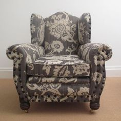 Rare-Antique-Large-Upholstered-Armchair-Victorian-or-Edwardian-Fully-Restored