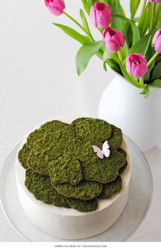 Edible Moss Cake Decoration : Cupcakes & Cake Pops on Pinterest Cupcake Toppers ...