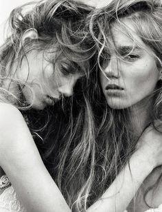 Amalie Moosgaard & Cecilie Moosgaard for Numero February 2016 | The Fashionography