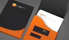 Then Corporate  Brand Identity by JIMMI TUAN, via Behance
