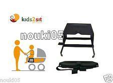 kids2sit Geschwistersitz incl. Gurt Zweitsitz Kinderwagensitz kidstwosit