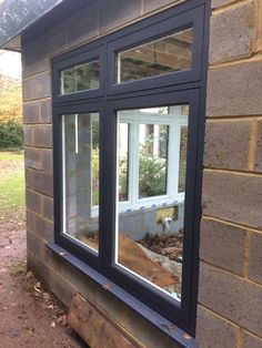 Residence 7 installation by Omega Windows in Eclectic Grey/Chalk White