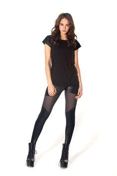 Spartans Sheer Leggings | Black Milk Clothing