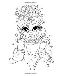 Amazon.com: Lacy Sunshine's Bubbles Fairy Coloring Book Volume 13: Whimiscal Big…