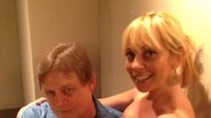 The voice of the Joker (Mark Hamill) and voice of Harley Quinn (Tara Strong) recorded this super adorable vine. It is perfect, and we've watched it 500 times.