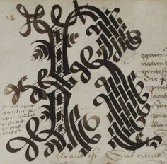 Calligraphy Envelope, Calligraphy Art, Decorated Letters, Scribe, Illuminated Letters, Bookbinding, Pattern Books, Writings, Line Drawing