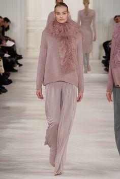 Ralph Lauren Fall 2014 Ready-to-Wear Fashion Show - Kate Grigorieva