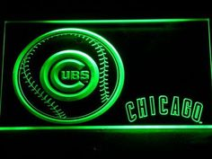 Chicago Cubs Baseball LED Neon Sign