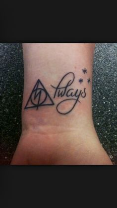 Always. Harry Potter Tattoo