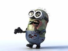 aaawwwwee even as a Zombie they are still  cute