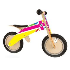Kiddimoto Kurve Rainbow Union Jack