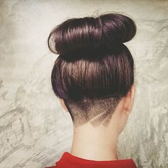 nape undercuts for long hair - Google Search