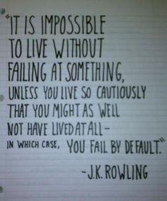 Failing leads to success